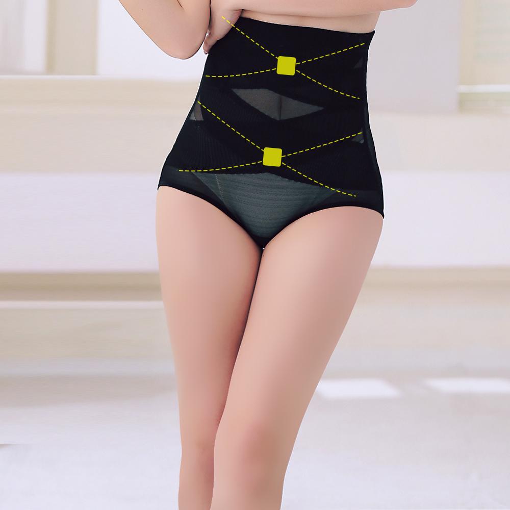 塑身褲 420丹2次方雙X加壓 ThreeShape 晶鑽黑 M-3XL