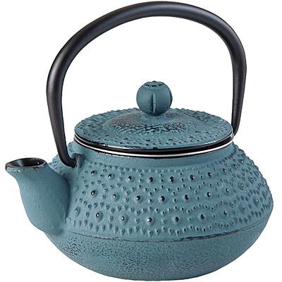 IBILI Manaos鑄鐵濾茶壺(灰藍300ml)