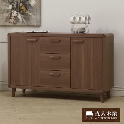 日本直人木業-wood北歐生活120CM廚櫃
