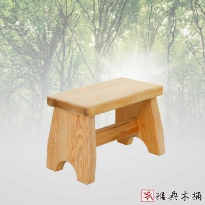 雅典木桶 珍貴國寶級檜木 板凳(高21CM)