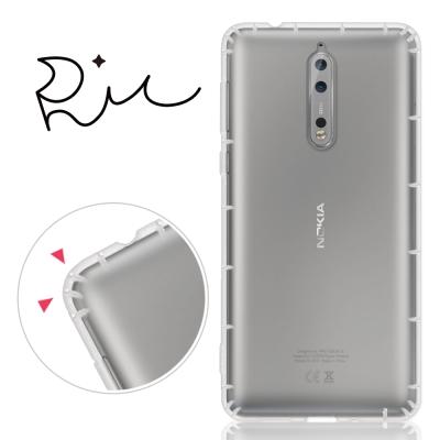 RedMoon Nokia 8 防摔氣墊透明TPU手機殼