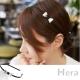 Hera 赫拉 金屬蝴蝶結繞布髮箍/頭箍