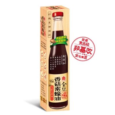 義美 全豆純釀造香菇素蠔油(524g)