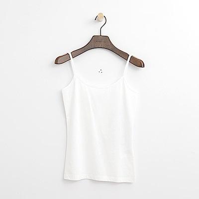 Hang Ten - 女裝 - 純色細肩背心-白色