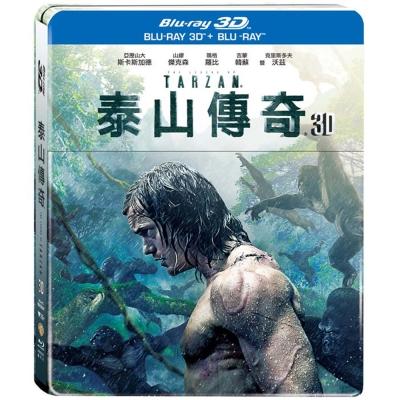 泰山傳奇3D+2D 雙碟鐵盒版  藍光 BD