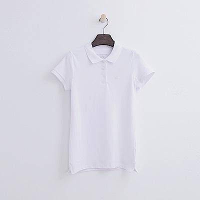 Hang Ten - 女裝 - 基本多彩POLO-白色