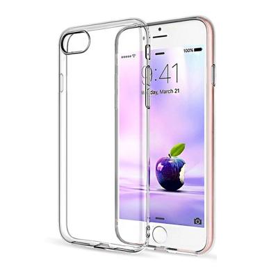 Bravo-u iPhone8 Plus 5.5吋輕薄隱形強化透明保護殼(掛繩孔...