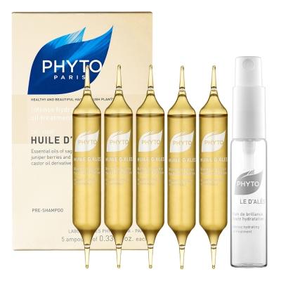 PHYTO-麗絲護髮精油10mlx5支入