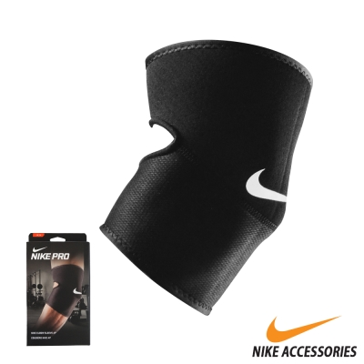 NIKE PRO 手肘護套2.0(亞規) (黑/白)