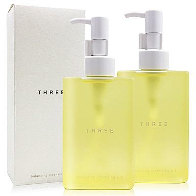 THREE 平衡潔膚油200mlX2
