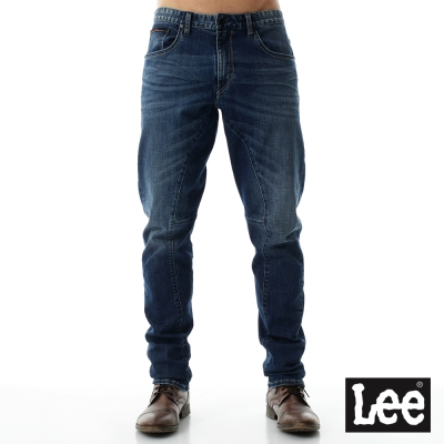 Lee 牛仔褲 788 中腰3D舒適小直筒-男款 藍