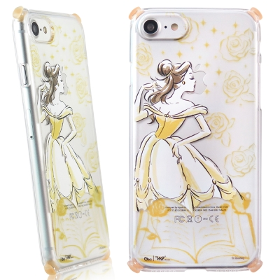 Disney迪士尼iPhone 7(4.7吋) Wakase輕薄減震防摔殼-手繪...