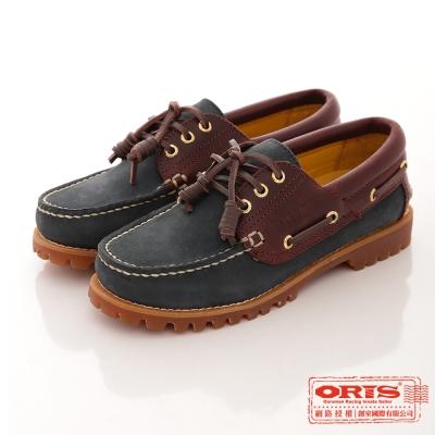 ORIS 女款 真皮烙印888帆船鞋~888C04