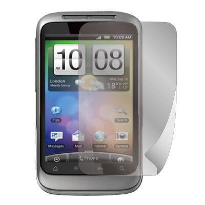 ZIYA HTC Wildfire S 抗刮螢幕保護貼 (兩入裝)