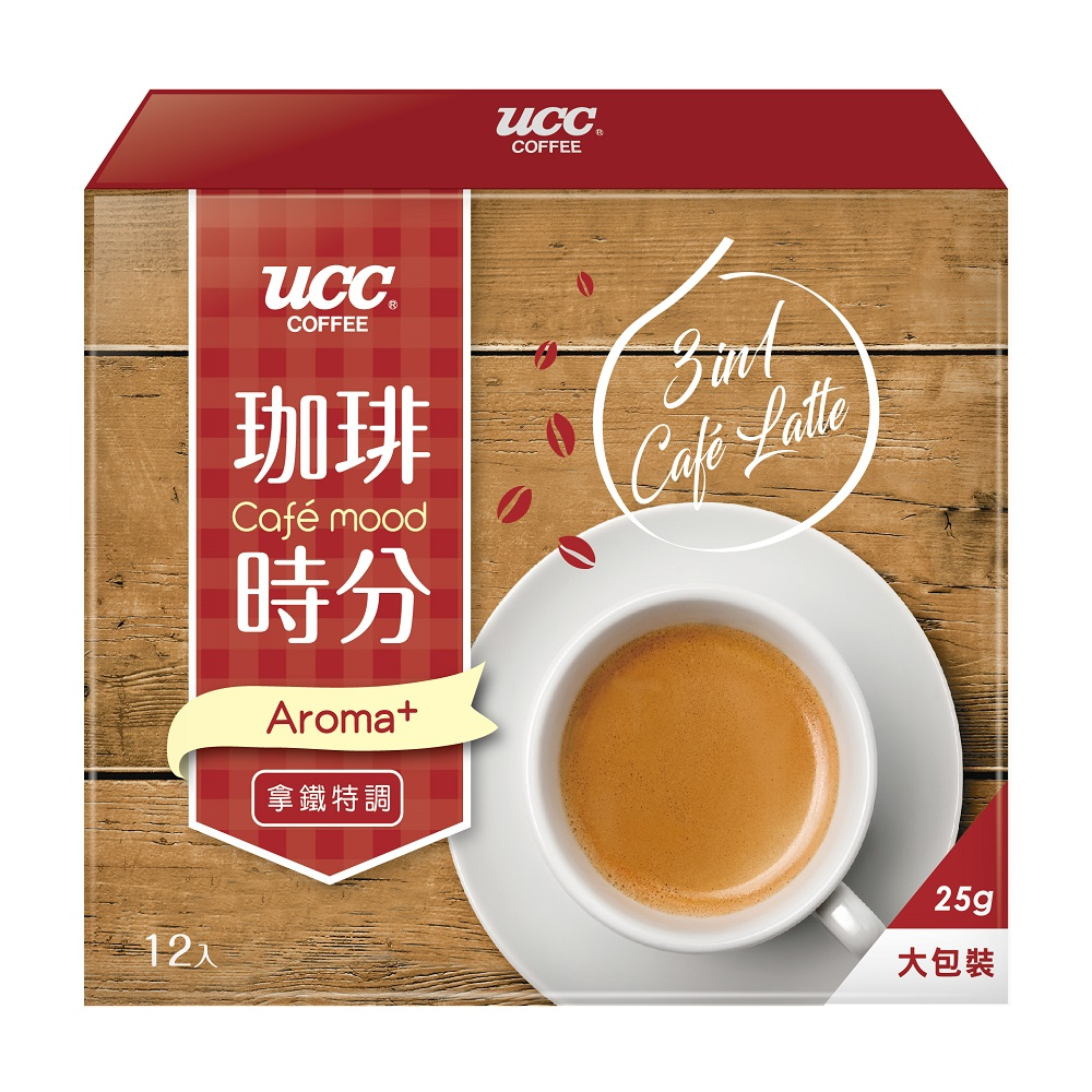 UCC 珈琲時分拿鐵風味3合1咖啡(25gx12入)