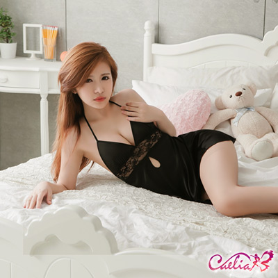 Caelia 無限寵愛!後開襟二件式睡衣
