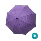 西班牙 bisetti 愛心印花抗UV直骨傘 3色可選