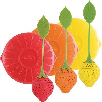 TRUDEAU 莓果濾茶器+蓋
