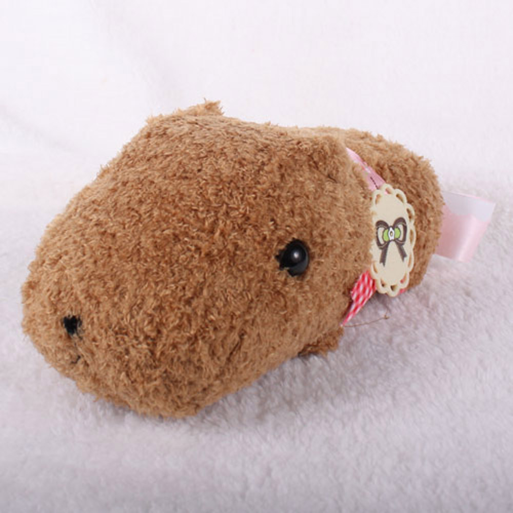 Kapibarasan 水豚君草莓系列珍珠鍊公仔(咖啡)
