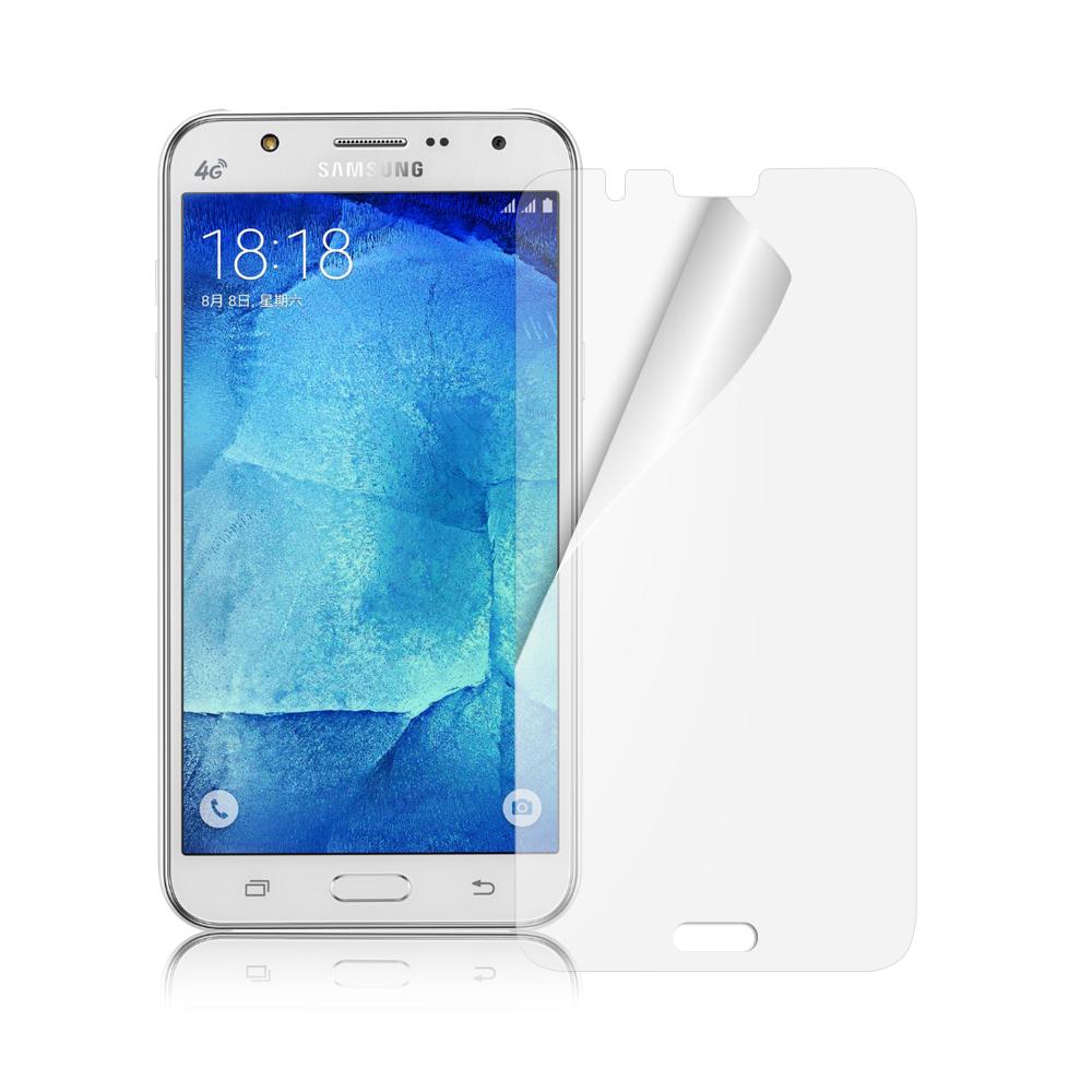 魔力 Samsung GALAXY J7 高透光抗刮螢幕保護貼