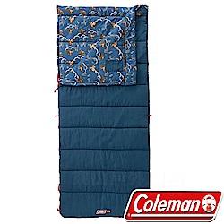 Coleman CM-32341海軍藍 COZY II信封型睡袋適溫10度睡蛋/化纖寢袋