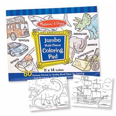 美國 Melissa & Doug 大型兒童繪圖本-藍色