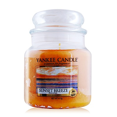 YANKEE CANDLE香氛蠟燭-落日微風 Sunset Breeze 411g