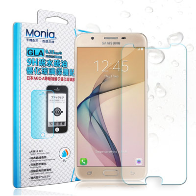 MONIA Samsung Galaxy J7 Prime 日本頂級疏水疏油9H...