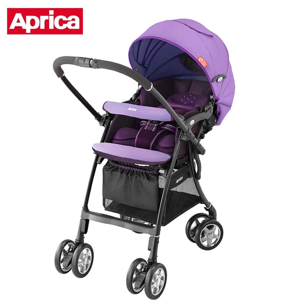 【Aprica】 雙向嬰幼兒手推車 - LUXUNA CTS 前瞻系列(薰衣紫PR)