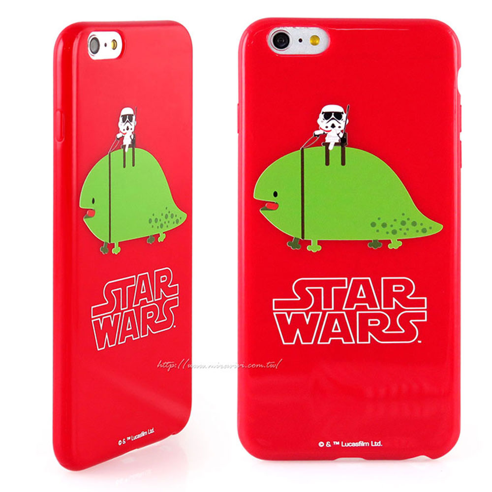 Star Wars iPhone6/iPhone6s 紅色保護軟套
