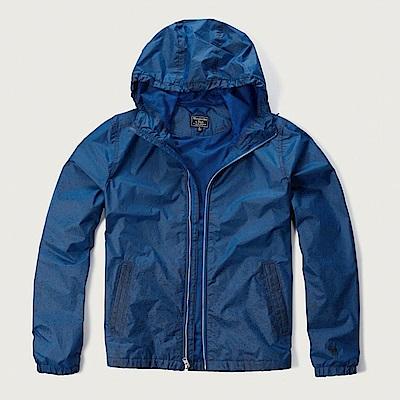 AF a&f Abercrombie & Fitch 外套 藍色 0550