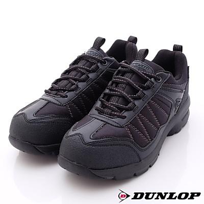 日本DUNLOP機能健走鞋-4E寬楦DU666-05黑-男段