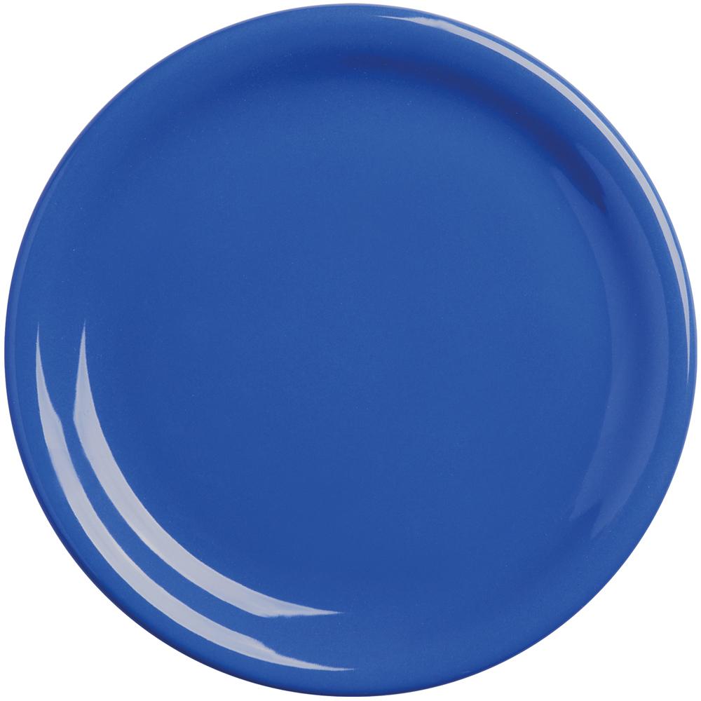 EXCELSA Fashion陶製淺餐盤(藍19.5cm)