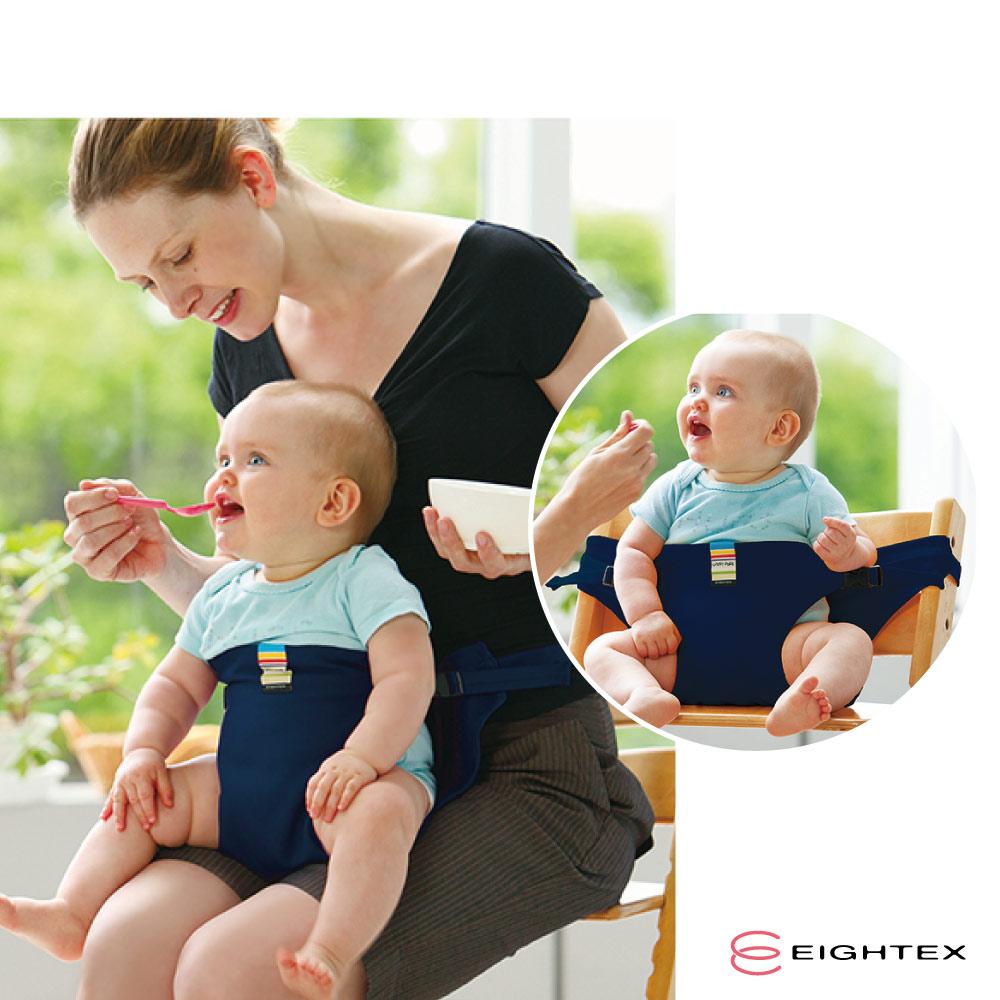 日本EIGHTEX-日本製簡易座椅安全帶-深藍色