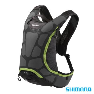 SHIMANO-UNZEN-登山水袋後背包15L