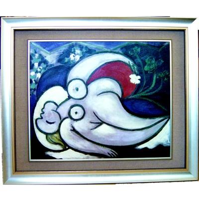 開運陶源【躺著的女人】畢卡索名畫【精緻版】
