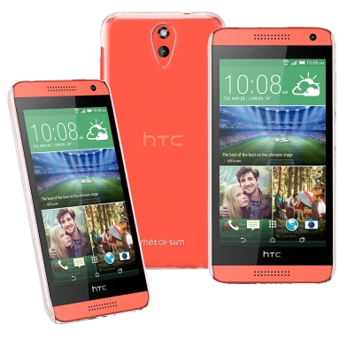 Simply Design HTC Desire 620 高抗刮PC透明保護殼