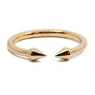 VITA FEDE義大利品牌 Titan泰坦 玫瑰金色C式粗手環手鍊