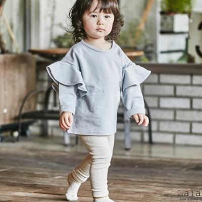 Lala韓國 象牙白素色內搭褲