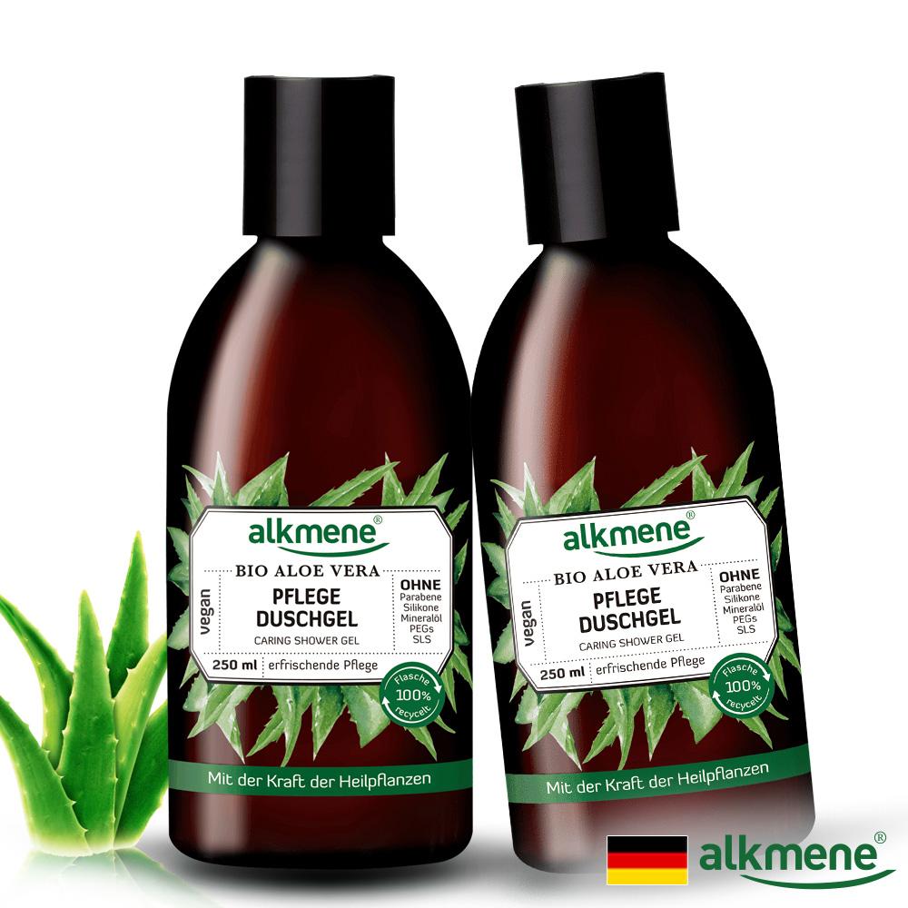 (買一送一)德國alkmene歐珂蔓蘆薈護理沐浴凝膠250ml