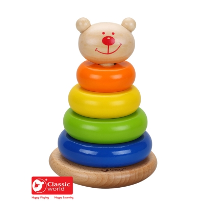 Classic World 德國經典木玩 熊熊套圈圈