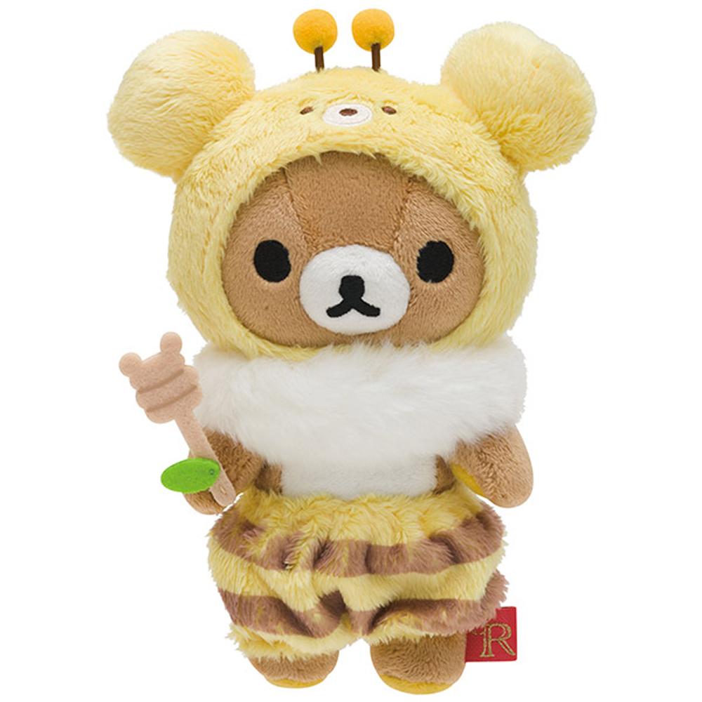 拉拉熊蜂蜜森林豐收節系列毛絨公仔(S) 懶熊 San X