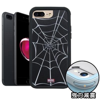 正版授權 iPhone 8 Plus/ 7 Plus 蜘蛛人 軍規防摔保護殼(黑...