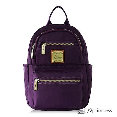 1/2princess高磅數防潑水尼龍五度空間2way二用包-深紫[A2740](快)