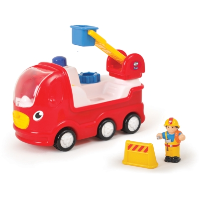 英國【WOW Toys 驚奇玩具】雲梯消防車 恩尼