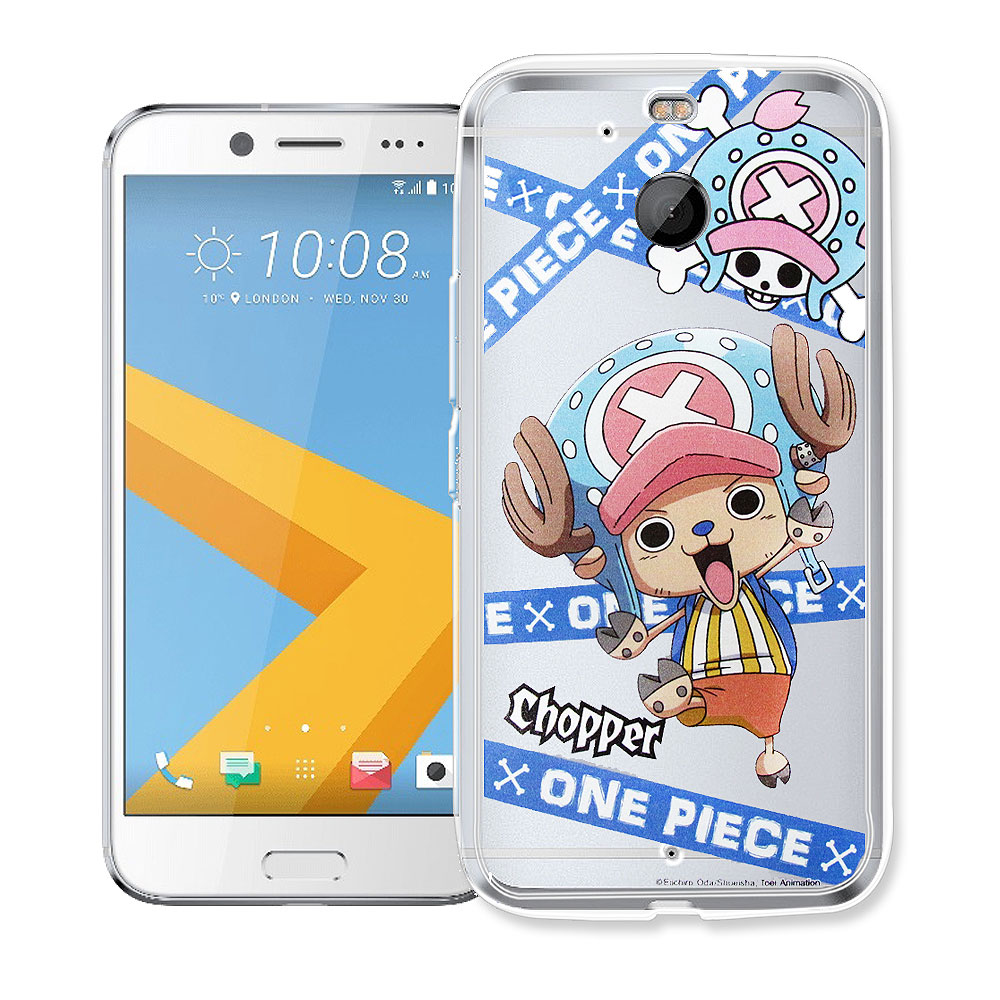 航海王 HTC 10 evo 5.5吋 透明軟式手機殼(封鎖喬巴)
