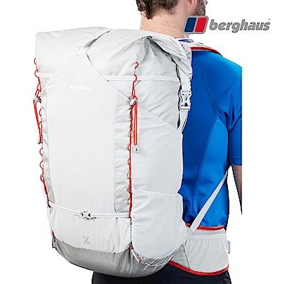 【Berghaus貝豪斯】輕量透氣45L登山背包T27X04-灰