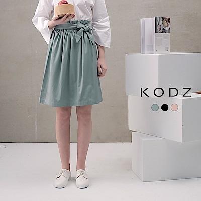東京著衣-KODZ 菲菲聯名都會顯瘦多色圓裙-S.M.L(共三色)