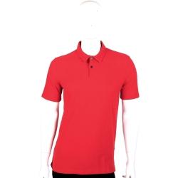 BURBERRY 紅色戰馬圖騰短袖POLO衫