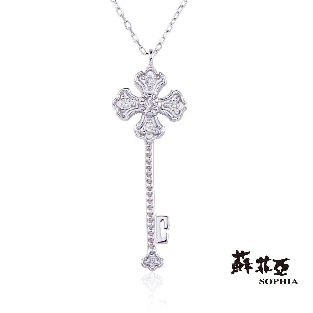 蘇菲亞SOPHIA - 愛的枷鎖0.06克拉鑽石耳環